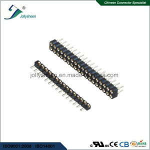 Machine Female Herader Pitch2.0mm Right Angle   Type   H2.8mm Connector pictures & photos