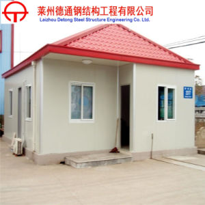 The New Prefabricated Apartments Building