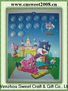 PVC Poster with Embossing (YP13) pictures & photos