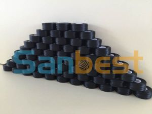 High Quality Sidedless Black Pre-Wound Bobbins Thread pictures & photos
