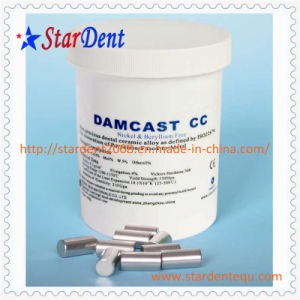 Partial Denture Alloy Nickel Cobalt with Beryllium Ts of Dental Material pictures & photos