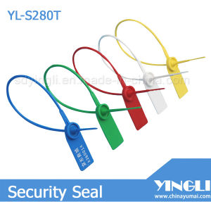 Plastic Security Seal with Serial Number and Logo (YL-S280T) pictures & photos