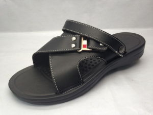 EVA PU TPR EVA Sandals with Leather Upper (21Il1609) pictures & photos