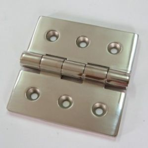 Stainless Steel Cabinet Door Hinge, Precision Casting Hinge