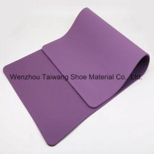 Comfortable Eco-Friendly Anti Slip Dual /EVA/TPE/PVC Colour Nature Rubber Yoga Mat pictures & photos