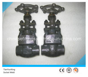 API CE A105n Socket Weld Forged Gate Valve pictures & photos