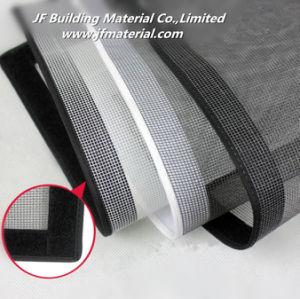 DIY Polyester Magnetic Screen Hook & Loop Net Stop Window Screen Mesh pictures & photos