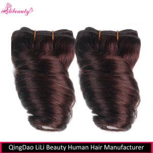 8 Inch Brazilian Virgin Hair Fumi Spring Curl Hair Weave Bundles #99j pictures & photos