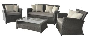 Patio Sofa Set Rattan/Wicker Outdoor Furniture
