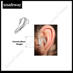 Silicone Earmolds for Two Way Radio Tube Earpiece Accessories pictures & photos