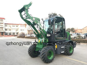 800kg New Type Zl08f Model Wheel Loader with Converter pictures & photos