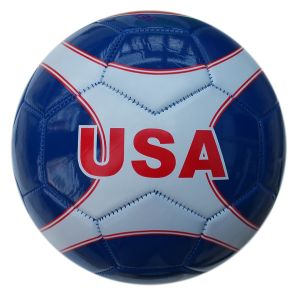 Machine Sewing PVC Soccer Ball pictures & photos