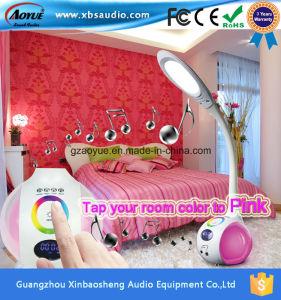 LED Light Desk Lamp Bluetooth Speaker with USB