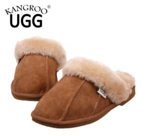 Fashion Ladies Home Shoes Indoor Casual Slippers Chestnut pictures & photos