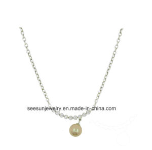 Fashion Silver Jewelry Necklace with Pearl pictures & photos