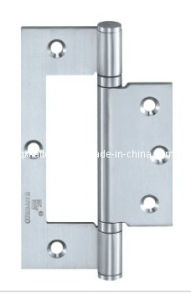 SUS304 Satin Finish Flush Hinge for Wooden Door (2553-DYJ-2BB) pictures & photos