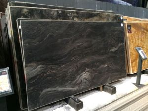 Black Imported Granite Slabs for Flooring pictures & photos