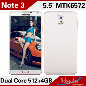 Reviews of The Note 3 Mt6572 1.2GHz Dual Core RAM 512MB ROM 4GB 5.5 Inch 3G Cheap Android Phones Unlocked