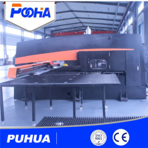 Automatic Steel Plate Hydraulic CNC Turret Punching Press Machine Price pictures & photos