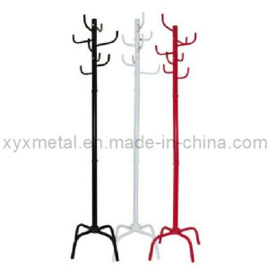 Modern Style Powder Coating Metal Clothes Coat Stand pictures & photos