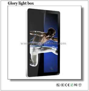 HD Wall-Mounted 3G WiFi Kiosk LED Advertising Player pictures & photos