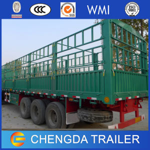3 Axles Side Wall Cargo Trailer Manufacturers for Sale pictures & photos