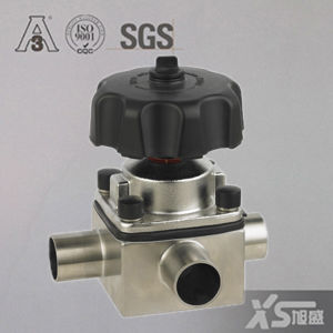 Stainless Steel Aspetic T-Body Diaphragm Valves pictures & photos