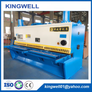 2016 Hot Sale Metal Sheet Hydraulic Shearing Machine (QC11Y-16X3200) pictures & photos