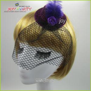 Purple Mini Hat Hair Accessories