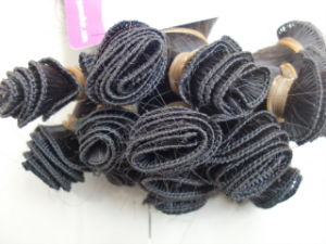Best Quality 100% Human Remy Hand Tied Weft pictures & photos