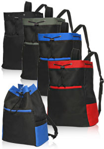 Drawstring Sports Backpack pictures & photos