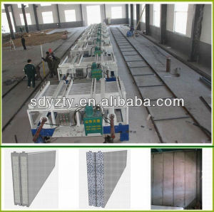 Tianyi Mobile Molding Compound Cement Machine EPS Sandwich Wall Panel pictures & photos