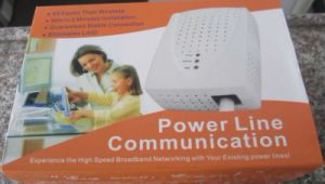85Mbps Powerline Communication Adapter/ Experience The High Speed Broadband Networking with Your Existing Power Lines