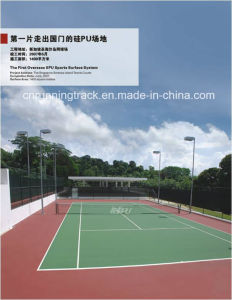 Eco-Friendly Spu Sports Flooring with Iaaf Certificate pictures & photos