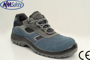 Nmsafety CE Certified PU Injection Work Safety Shoes pictures & photos