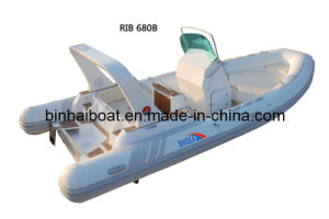 "6.8m 22ft4"" for 14 Persons Rigid Inflatable Boat Rib 680b with CE (RIB 680B)"