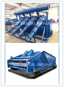 Silica Sand Recycling Machine, Hydrocyclone with Dewatering Screen pictures & photos
