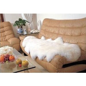 Natural Australian Sheepskin Double Pelt Floor Carpet Sofa Cushion pictures & photos