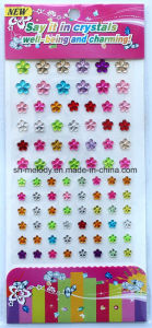 Multicolor Flower Rhinestone Stickers/Acrylic Sticker/Mobile Phone Sticker pictures & photos