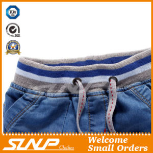 Fashion Cotton Kids Clothes Boys Clothing Denim Pants for Summer pictures & photos