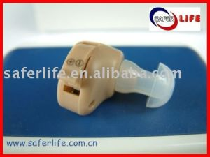 2016 Adjustable Incredible in The Ear Aged Mini Ear Hearing Aid with Extra Battery pictures & photos