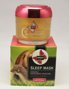 Snail Liqud Repairing Solution Sleep Mask pictures & photos