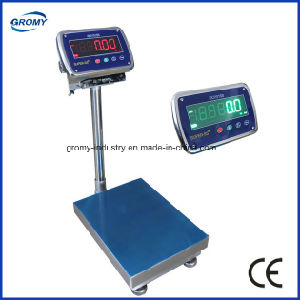 Electronic Stainless Steel Waterproof Platform Scale Bench Weighing Scale pictures & photos