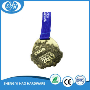 2017 Wholesale Antique Plated Custom Sports Medal pictures & photos