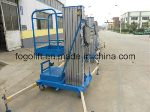 Ce Approved Hydraulic Mobile One Man Lift with Light Weight pictures & photos