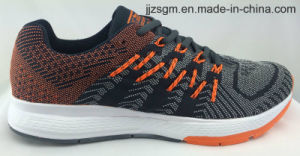 Hot Sale Comfort Flyknit Running Sports Shoes with MD Outsole pictures & photos