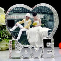 Romantic Crystal Iceberg Photo Frame for Wedding (JD-CD-803) pictures & photos