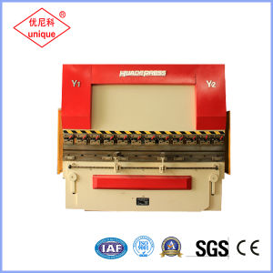 We67k CNC Hydraulic Press Brake, Metal Sheet Bending Machine