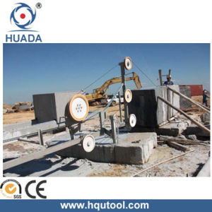 Wire Saw Machine for Stone Block Squaring (DWSG-11A-6P) pictures & photos