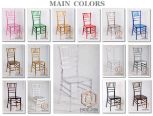 Transparent Clear Acrylic Chiavari Chairs pictures & photos